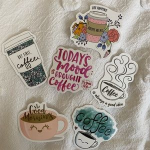 Coffee Sticker Pack